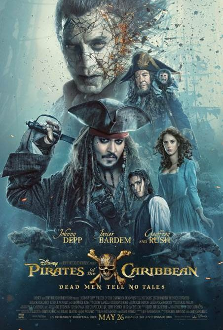 PIRATES OF THE CARIBBEAN: DEAD MEN TELL NO TALES – New Trailer and Poster Now Available