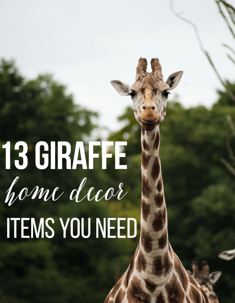 13 Giraffe Home D Cor Items You Need My Thoughts Ideas