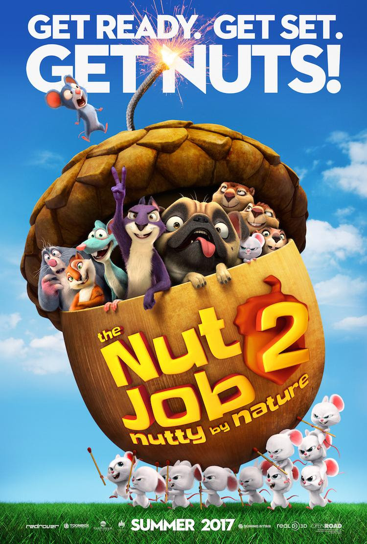 THE NUT JOB 2: NUTTY BY NATURE- New Trailer