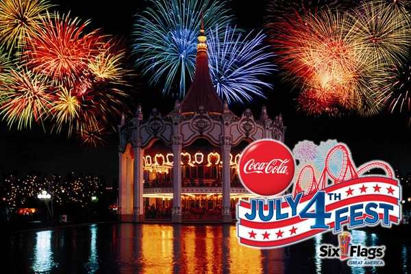 Coca-Cola July 4th Fest at Six Flags
