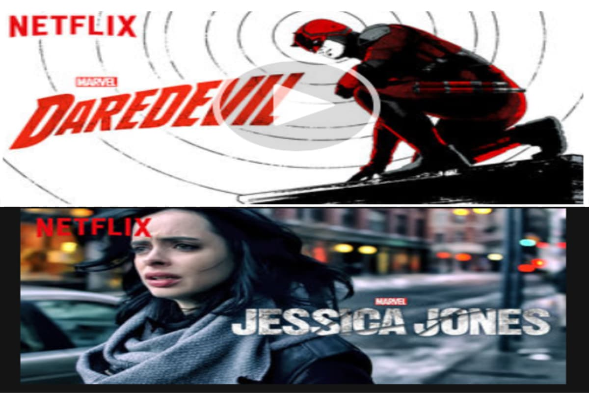 Jessica Jones & Daredevil are Coming To DVD #streamteam