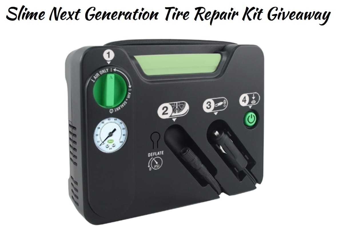 Slime Next Generation Tire Repair Kit Giveaway