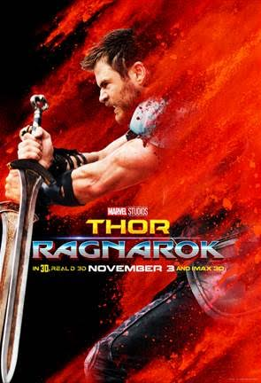 THOR: RAGNAROK New Posters Now Available!!!