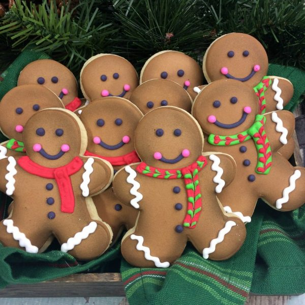 Christmas Recipe:  Gingerbread Sugar Cookies