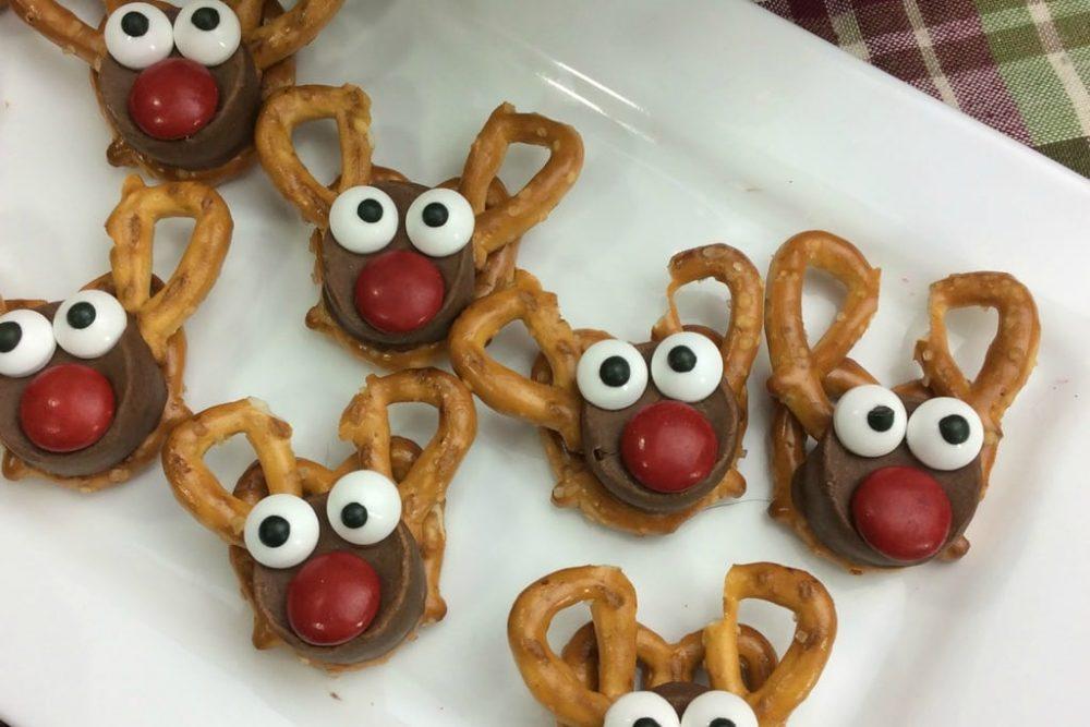 Christmas Recipe:  Rudolph Reindeer Treats