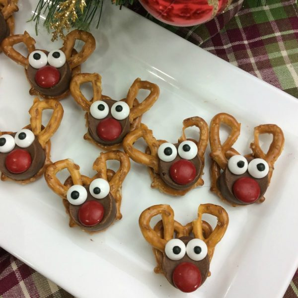 Christmas Recipe:  Rudolph Reindeer Treats