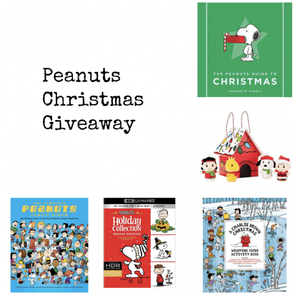 Peanuts Christmas Gift Guide and Giveaway!