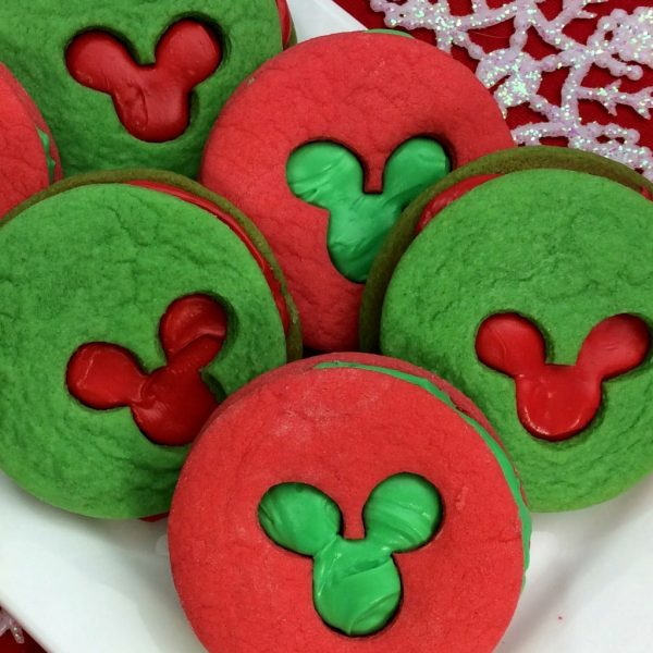 Mickey Sandwich Cookies