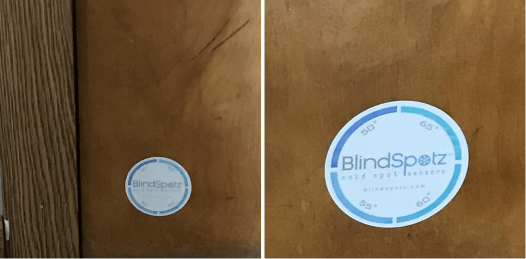 Is There A Draft In Here Blindspotz Cold Spot Sensor To The Rescue