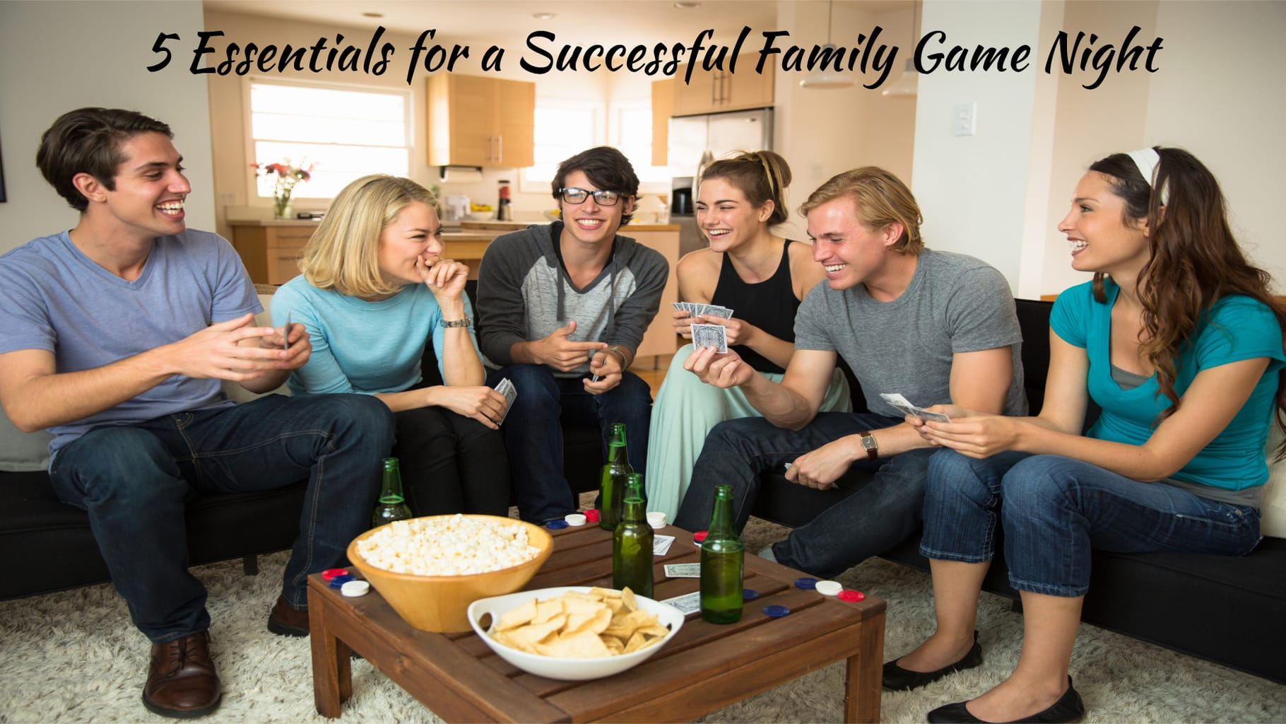 5 Essentials for a Successful Family Game Night