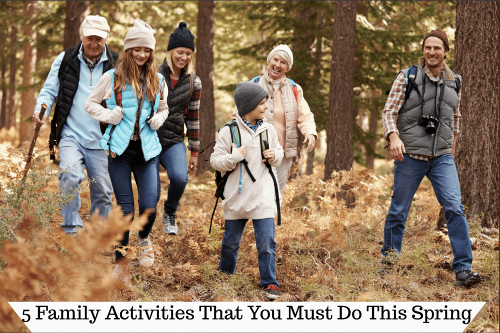 5 Family Activities That You Must Do This Spring