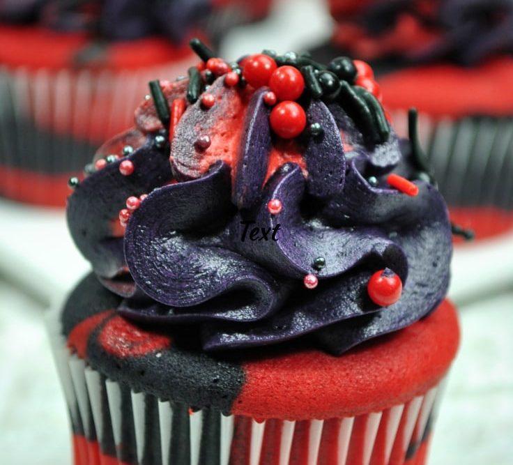Deadpool Cupcakes