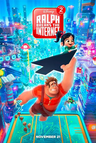 Ralph Breaks The Internet Poster and Trailer!