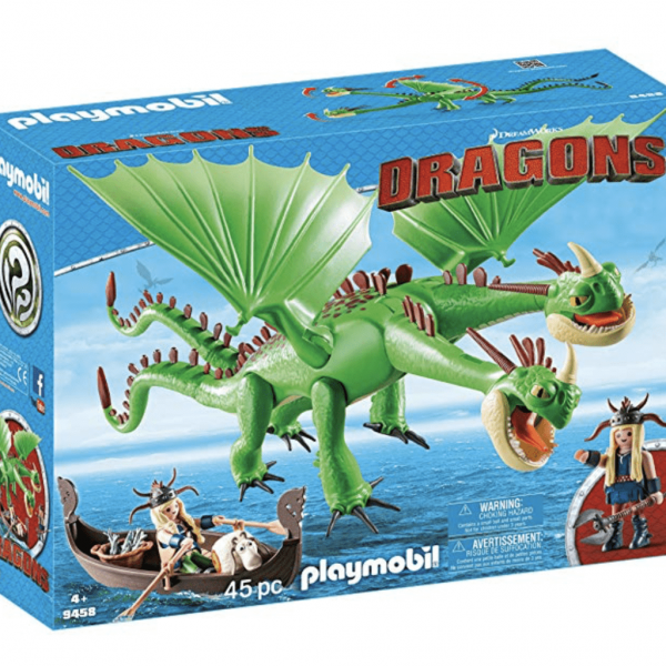 PLAYMOBIL® Twins with Barf and Belch Playset