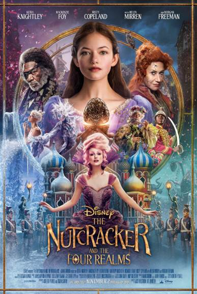 The Nutcracker And The Four Realm – New Poster & Trailer