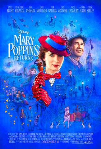 MARY POPPINS RETURNS – New Trailer & Poster