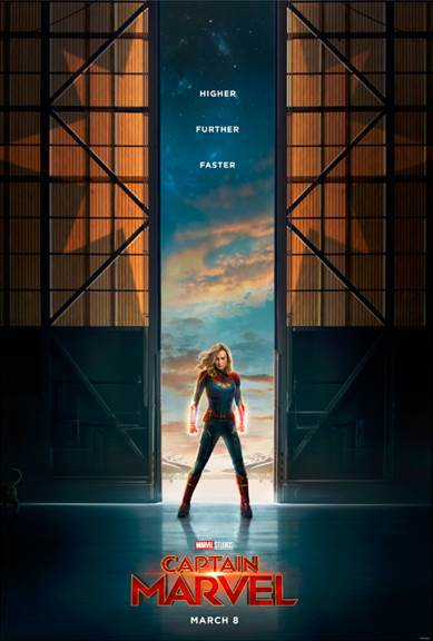 Marvel Studios' CAPTAIN MARVEL – Trailer & Poster