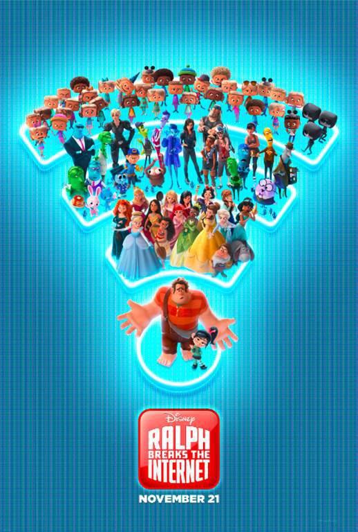 RALPH BREAKS THE INTERNET – New Trailer & Poster