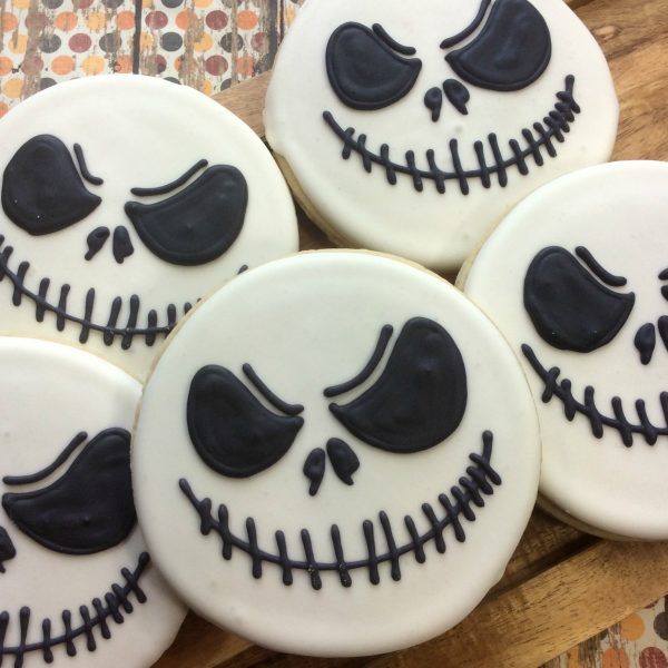 Halloween Recipe:  Jack Skellington Cookies