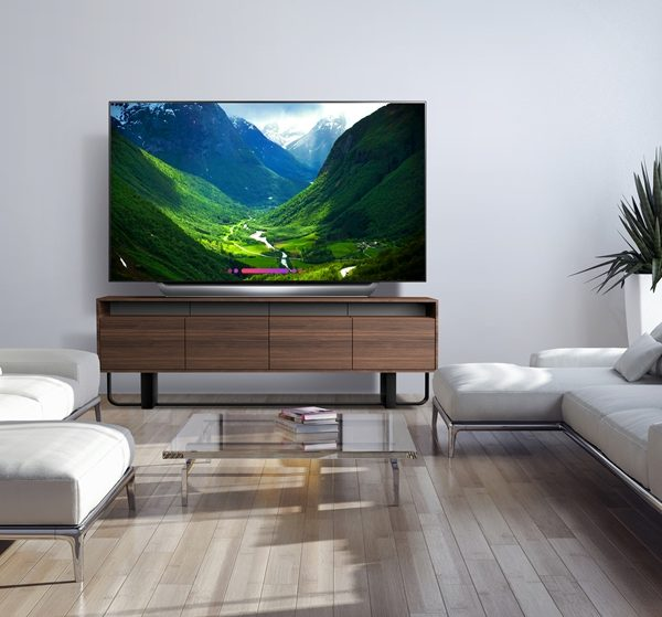 The 77'' class LG OLED C8 TV brings the wow!