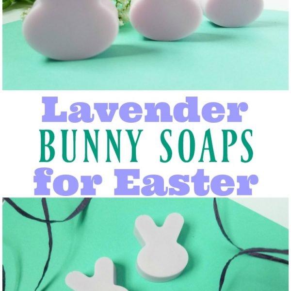 Lavender Easter Bunny Soaps