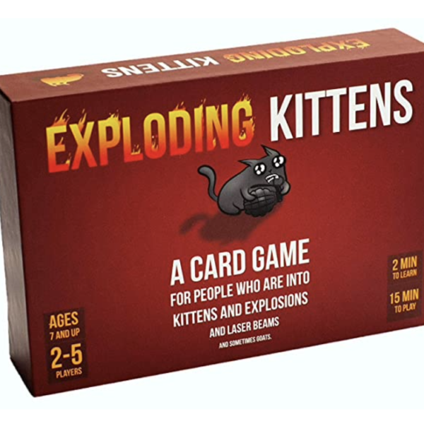 Exploding Kittens with Expansion Packs