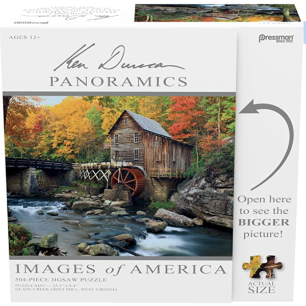 Images of America Puzzles – Glade Creek Grist Mill